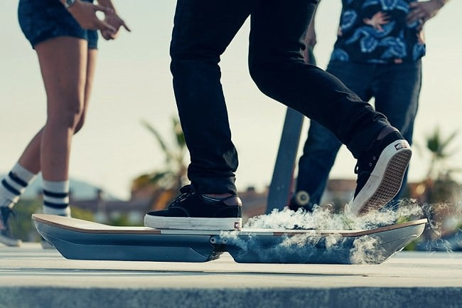 The Lexus Hoverboard Gets Tested 3