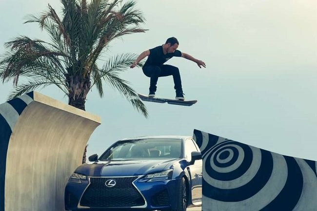 The Lexus Hoverboard Gets Tested