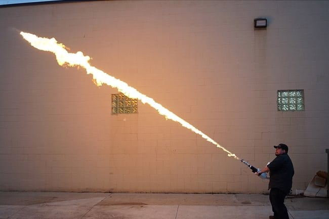 XM42 Personal Flamethrower 8
