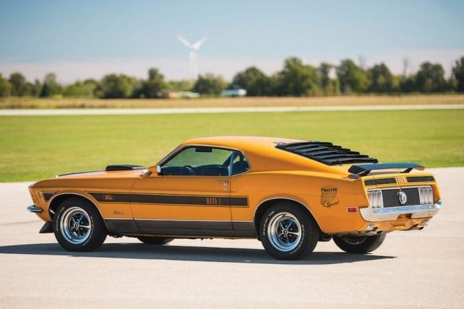 1970 Ford Mustang Mach 1 Twister 17