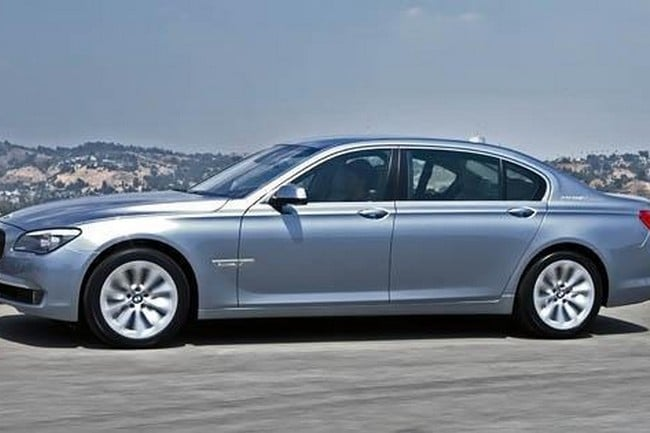 BMW ACTIVEHYBRID 7 GETS A FACELIFT
