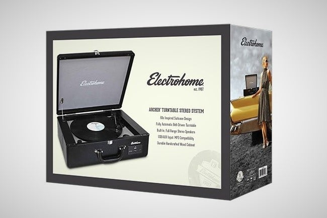 Electrohome Archer Turntable 5