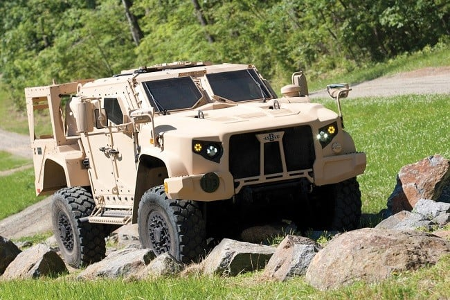 Oshkosh Defense Joint Light Tactical Vehicle 1