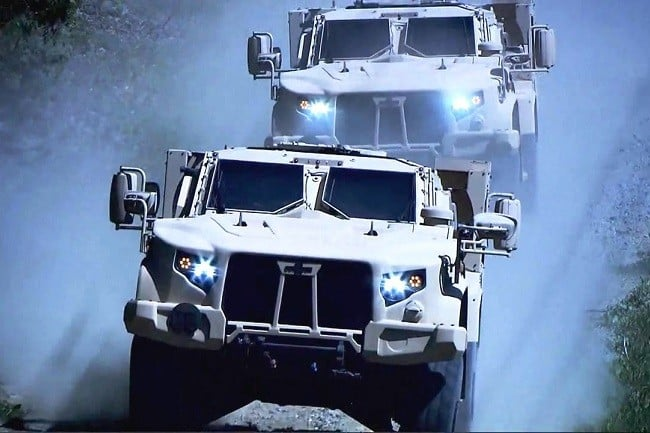 Oshkosh Defense Joint Light Tactical Vehicle 3