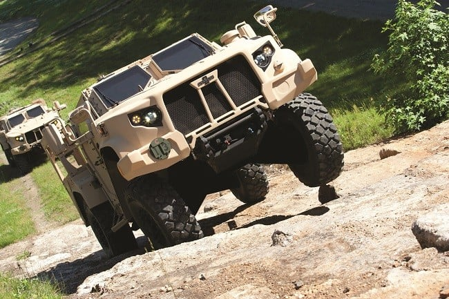Oshkosh Defense Joint Light Tactical Vehicle 4