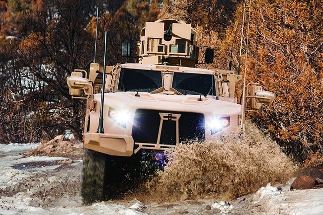 Oshkosh Defense Joint Light Tactical Vehicle