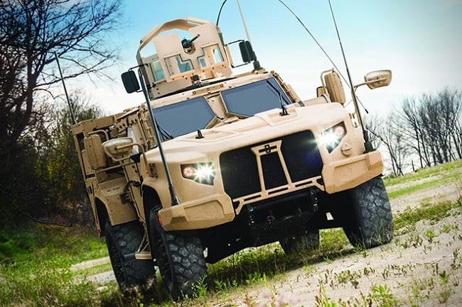 Oshkosh Defense Joint Light Tactical Vehicle 6