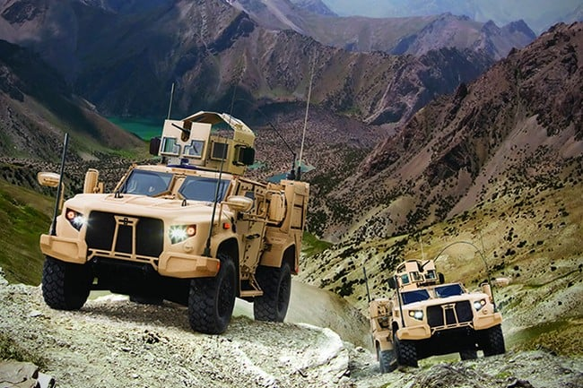 Oshkosh Defense Joint Light Tactical Vehicle 9