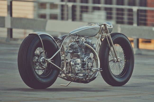 'The Musket' Motorcycle By Hazan Motorworks 2