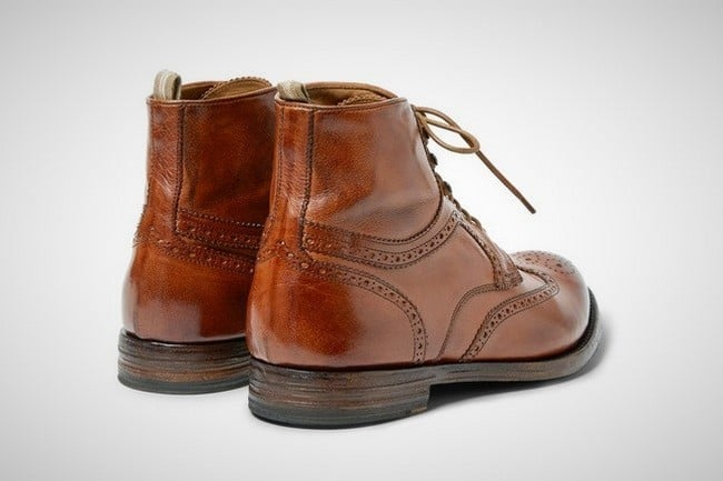 Officine Creative 'Anatomia' Brogue Boots 1