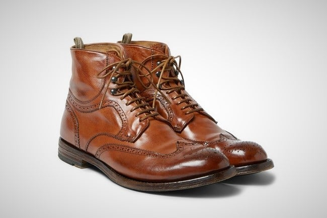 Officine Creative 'Anatomia' Brogue Boots 5