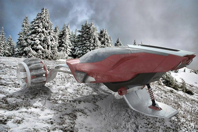 Rapid Deployment Snow Vehicle Concept 5