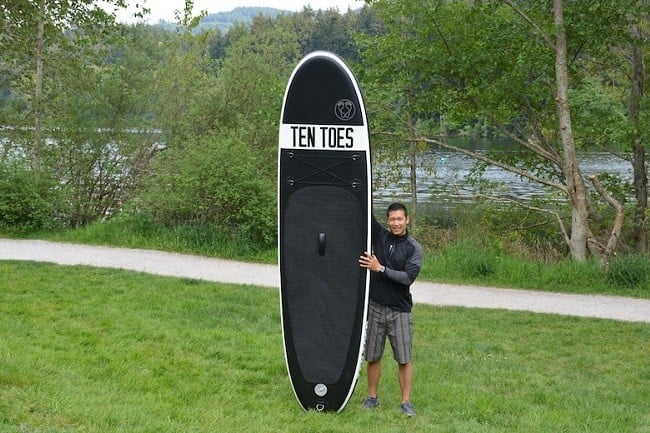 Ten Toes Inflatable SUP Boards 7