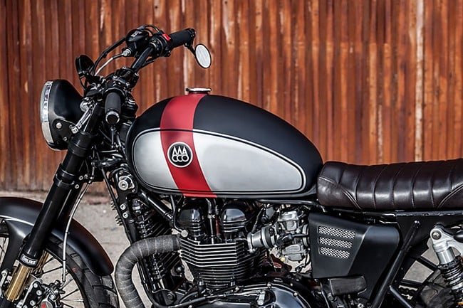 Triumph Bonneville By Macco Motors 1
