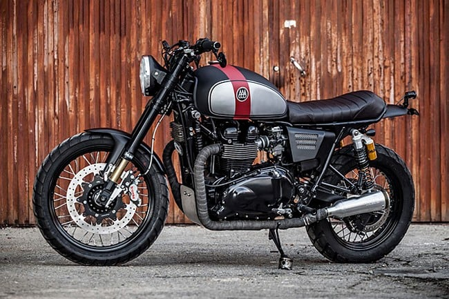 Triumph Bonneville By Macco Motors 2