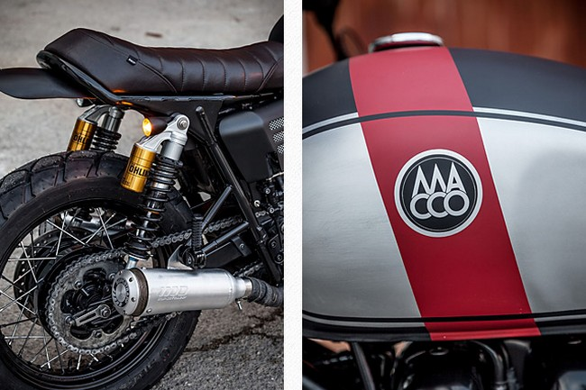 Triumph Bonneville By Macco Motors 9