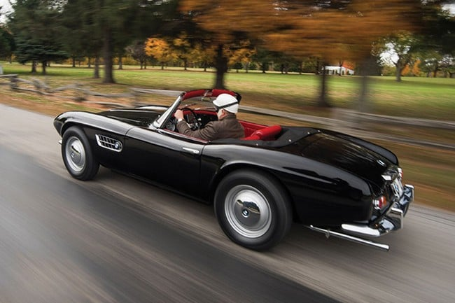1959 BMW 507 Roadster Series II 4