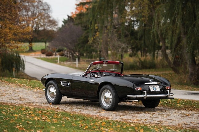 1959 BMW 507 Roadster Series II 8