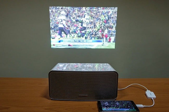 Flicks Boombox Projector 8