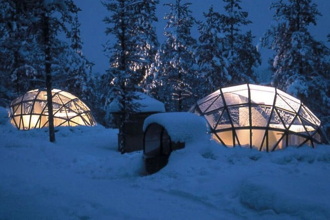 Kakslauttanen Arctic Resort in Finland 9