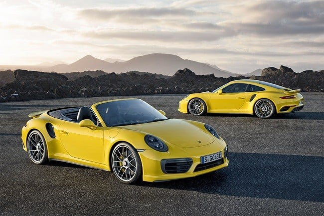2017 Porsche 911 Turbo and Turbo S