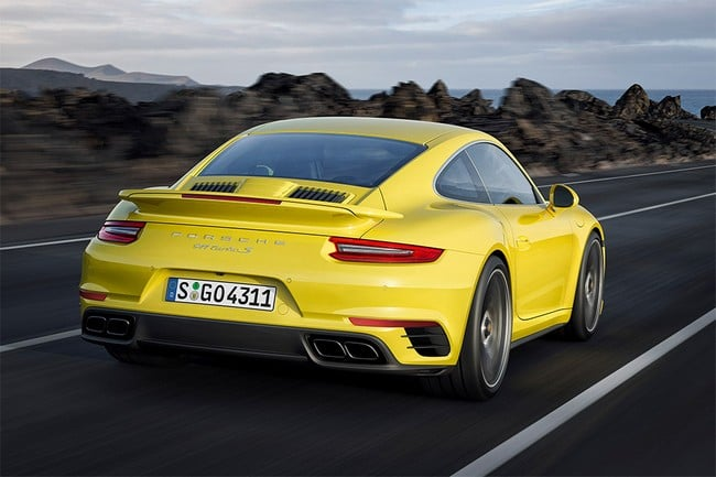 2017 Porsche 911 Turbo and Turbo S 3