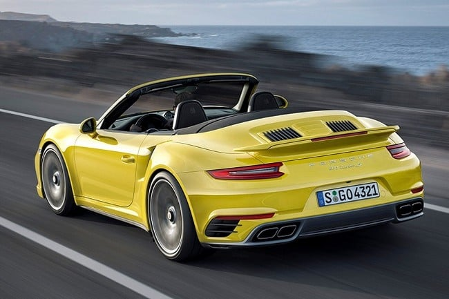 2017 Porsche 911 Turbo and Turbo S 5
