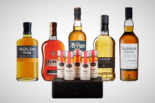 Flaviar's Whiskey Tasting Box