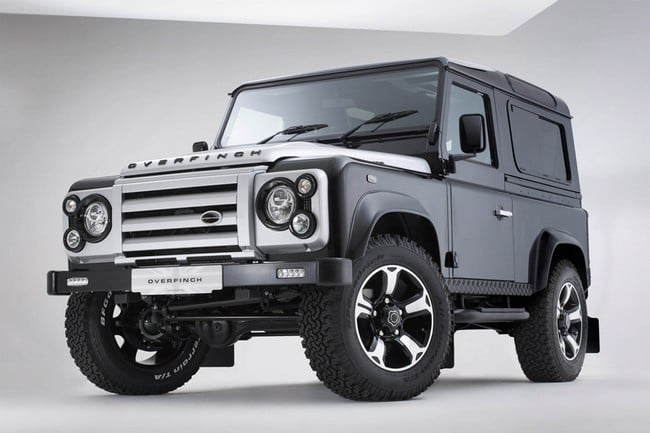 Overfinch 40th Anniversary Defender 7