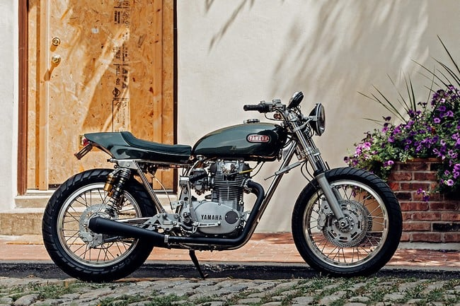 Yamaha XS 650 by Bill Becker 1