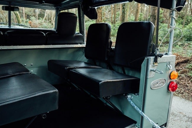 1982 Land Rover Series 3 + Camping Trailer 11