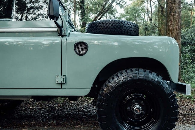 1982 Land Rover Series 3 + Camping Trailer 13