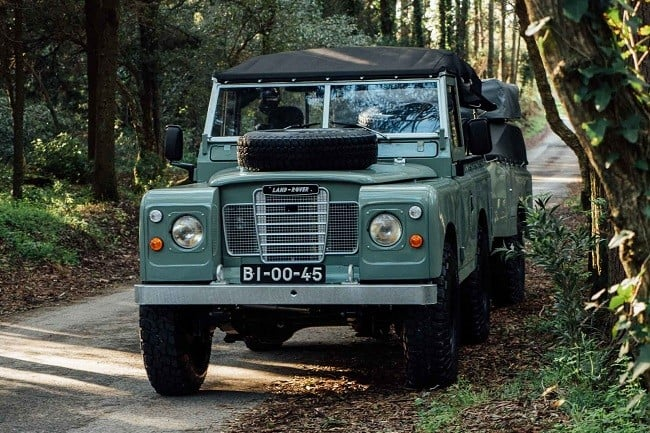 1982 Land Rover Series 3 + Camping Trailer 3