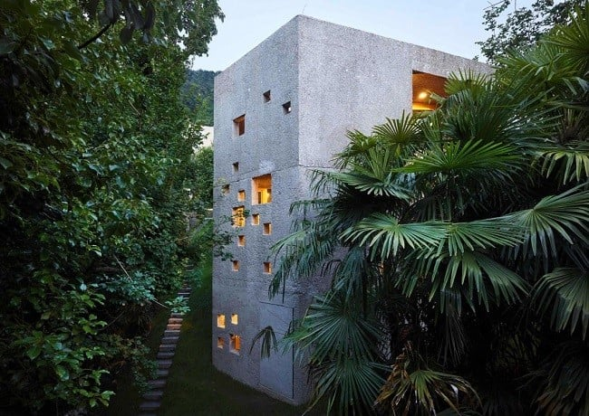 Concrete Bunker House in Switzerland 14