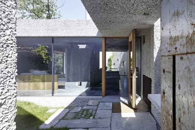 Concrete Bunker House in Switzerland 15
