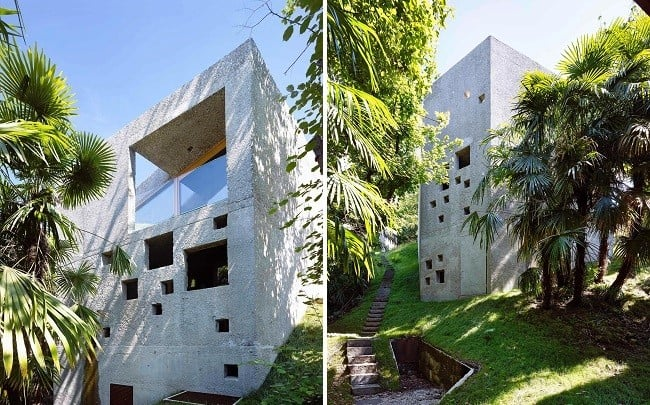 Concrete Bunker House in Switzerland 5