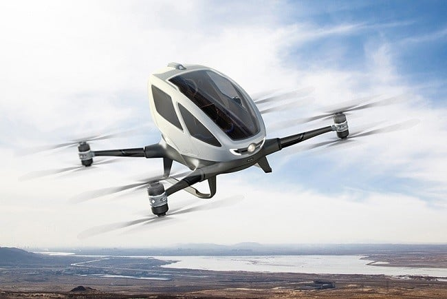 Ehang 184 Autonomous Aerial Vehicle