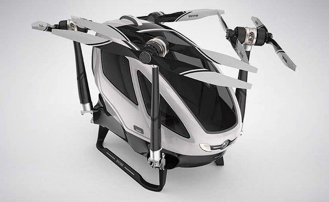Ehang 184 Autonomous Aerial Vehicle 7
