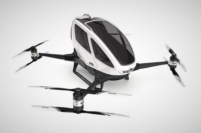 Ehang 184 Autonomous Aerial Vehicle 8
