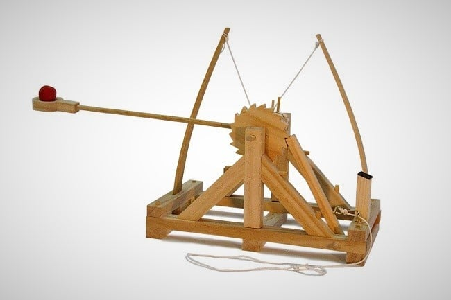 Leonardo da Vinci Catapult Kit 1