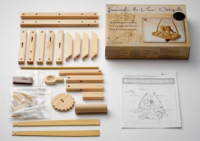 Leonardo da Vinci Catapult Kit 2