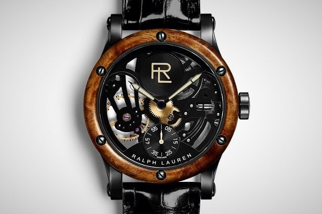 Ralph Lauren RL Automotive Skeleton Watch