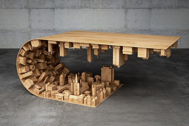 Wave City Coffee Table 5