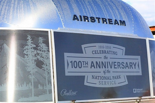 Airstream x Pendleton National Park Edition Travel Trailer 12