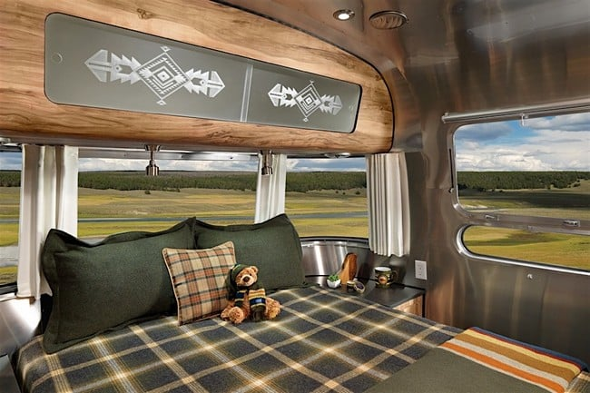 Airstream x Pendleton National Park Edition Travel Trailer 13