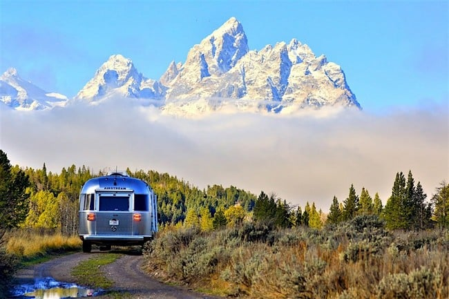 Airstream x Pendleton National Park Edition Travel Trailer 2