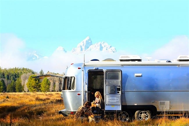 Airstream x Pendleton National Park Edition Travel Trailer 3