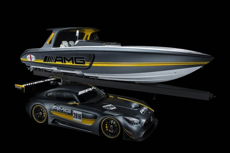 Cigarette Racing 41' SD GT3 Boat 10