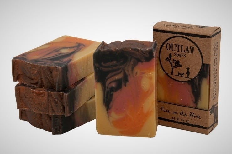 'Fire in the Hole' Campfire Soap 1