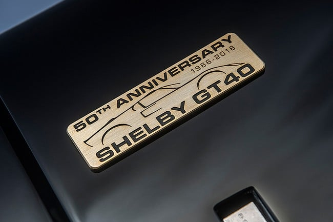 Shelby GT40 MKII 50th Anniversary Le Mans Edition 8
